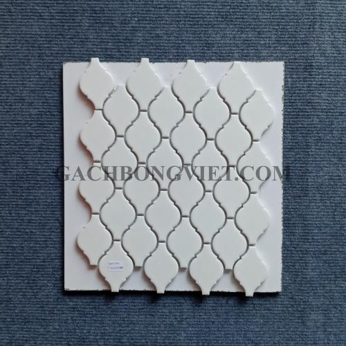 Gạch mosaic men, M-W041