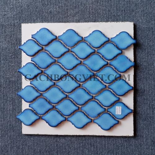 Gạch mosaic men, M-W042