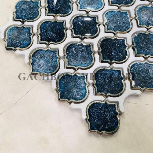 Gạch mosaic men, M-W045