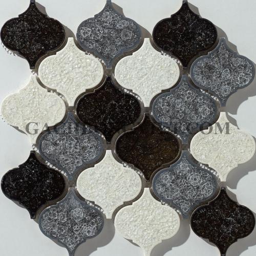 Gạch mosaic men, M-W047