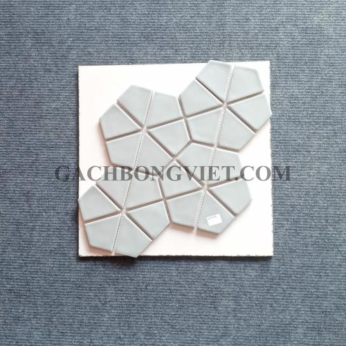 Gạch mosaic men, M-W052