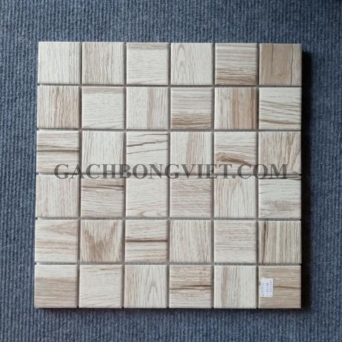 Gạch mosaic men, M-W061