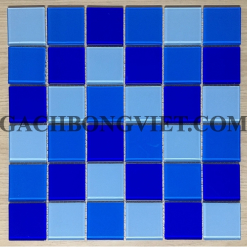Gạch mosaic thủy tinh, M-48286-3M