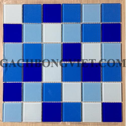 Gạch mosaic thủy tinh, M-48287-4M