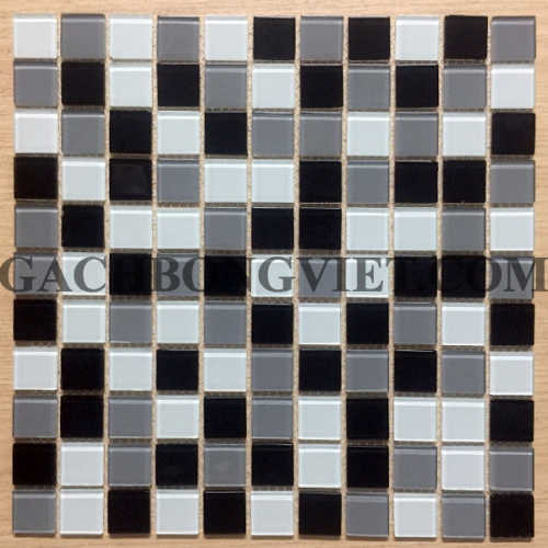 Gạch mosaic thủy tinh, M-TT2572