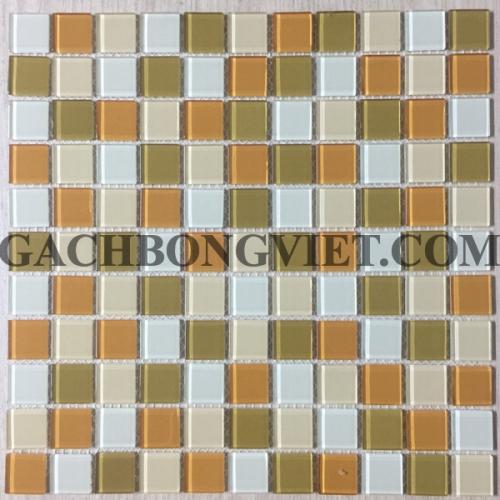 Gạch mosaic thủy tinh, M-TT2574