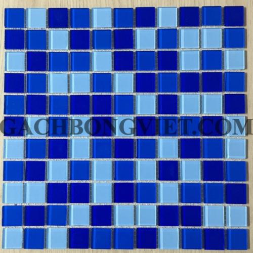 Gạch mosaic thủy tinh, M-TT2581