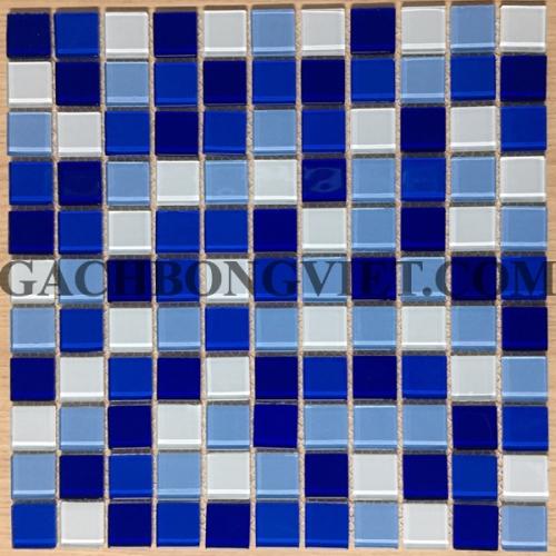Gạch mosaic thủy tinh, M-TT2583