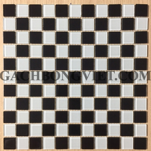 Gạch mosaic thủy tinh, M-TT2588