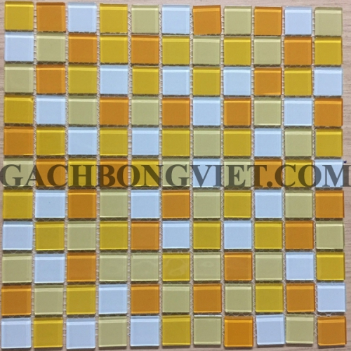 Gạch mosaic thủy tinh, M-TT2591