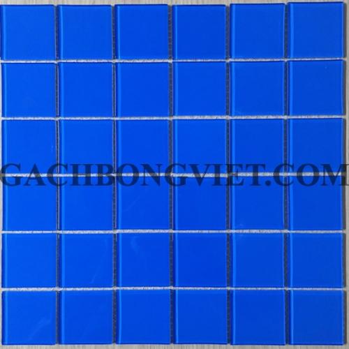 Gạch mosaic thủy tinh, M-TTHB01-Đậm