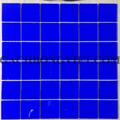 Gạch mosaic thủy tinh, M-TTHB01-Mực