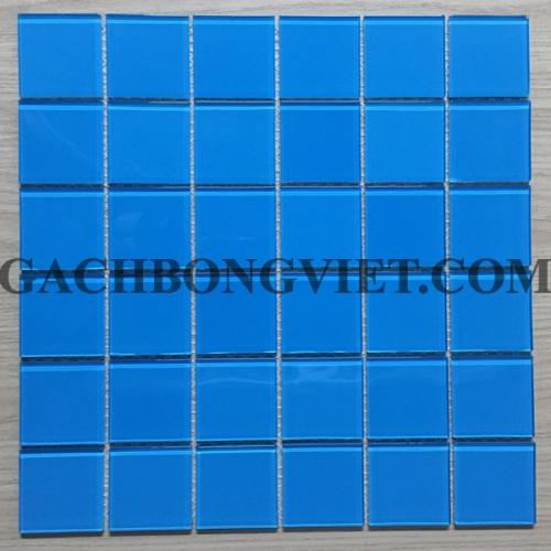 Gạch mosaic thủy tinh, M-TTHB02-Lợt