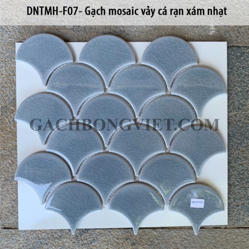 Gạch mosaic vảy cá, F07