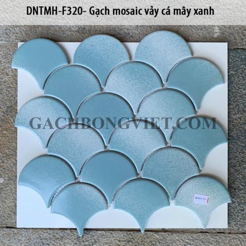 Gạch mosaic vảy cá, F320