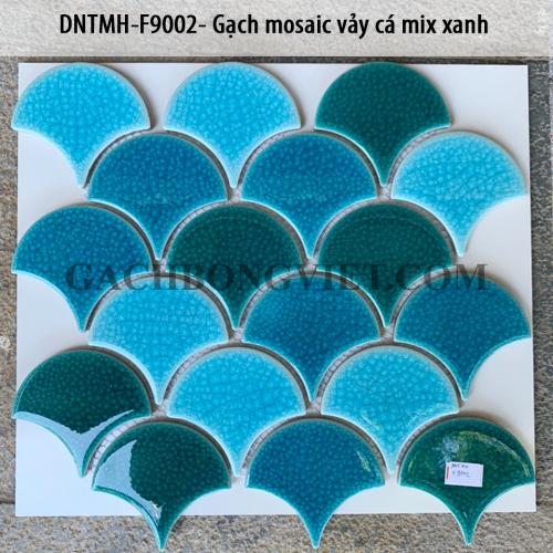 Gạch mosaic vảy cá, F9002