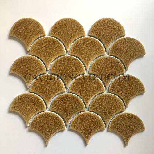 Gạch mosaic vảy cá, M-F62