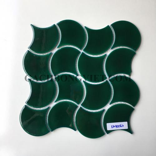 Gạch mosaic vảy cá, M-FA90067