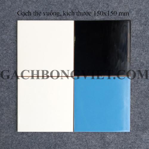 Gạch thẻ 150x150mm