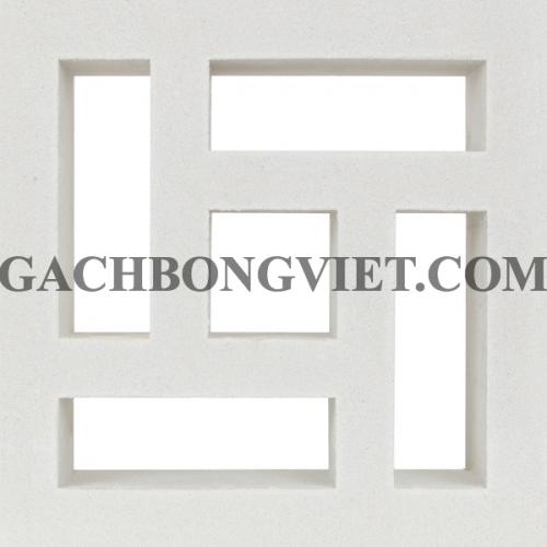 Gạch bông gió 30x30, Hindu trắng 30-004T