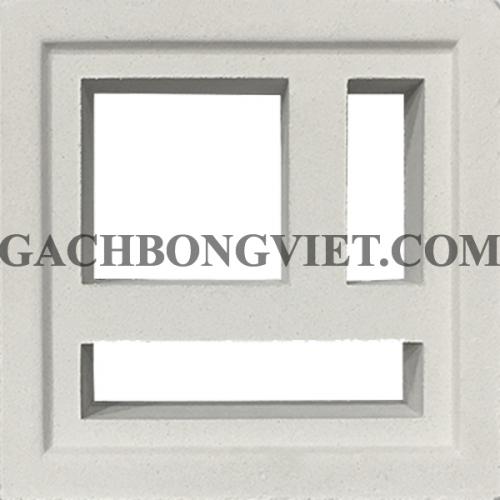 Gạch bông gió, Maze-2 trắng 009T