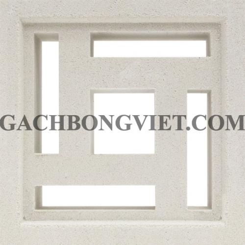 Gạch bông gió, Maze-4 trắng 012T